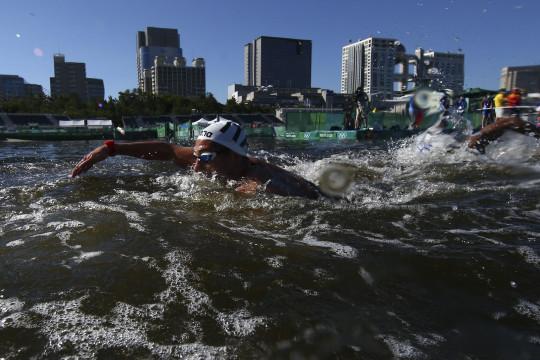 Pengalaman unik nan lucu atlet renang maraton 10km Olimpiade Tokyo