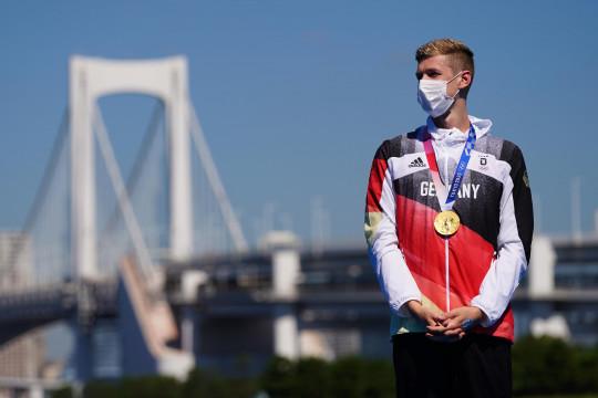 Florian Wellbrocksabet emas renang maraton putra