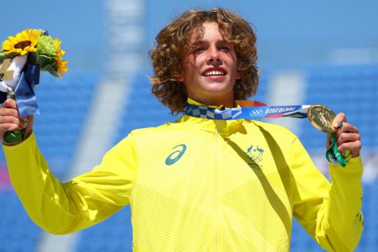 Remaja Australia bawa pulang emas skateboard park putra