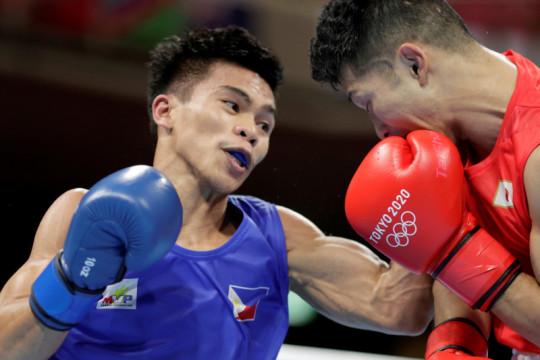 Petinju Filipina selangkah lagi ukir sejarah di Olimpiade Tokyo