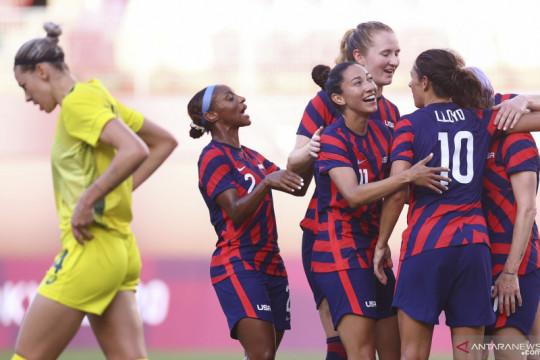 Amerika Serikat raih medali perunggu usai kalahkan Australia 4-3