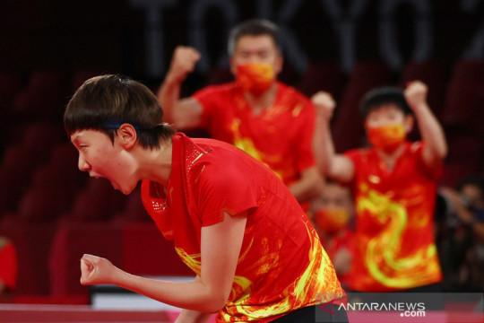 Olimpiade Tokyo: China raih emas tenis meja beregu putri