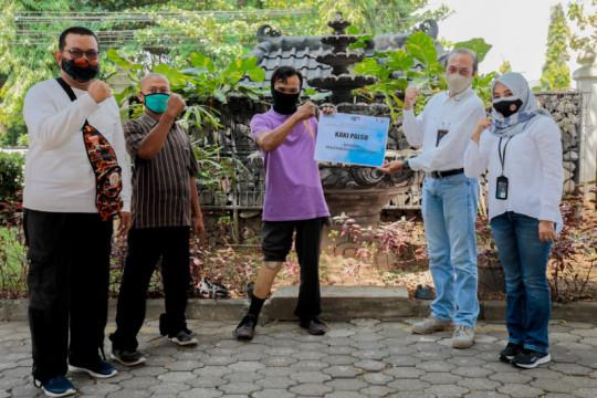 BUMN pariwisata bantu kaki palsu dukung kemandirian disabilitas