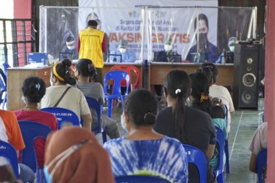 Ratusan pekerja migran di Nunukan sulit pulang ke kampung halaman