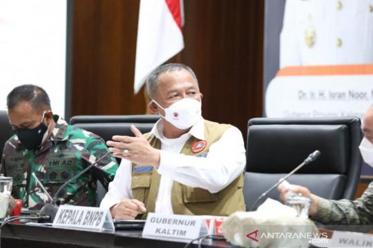 BNPB: Kaltim alami peningkatan kematian COVID-19 di luar Jawa-Bali