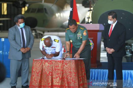 Panglima TNI bantu perbaikan pesawat Angkatan Bersenjata Papua Nugini