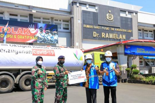 PLN salurkan 12 ton oksigen untuk RS Rujukan di Jatim