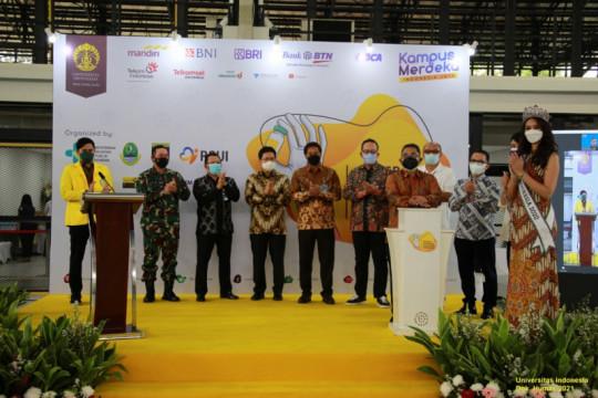 UI resmikan Sentra Vaksinasi Mahasiswa Indonesia