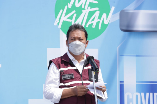 Menteri Trenggono: Vaksinasi nelayan topang pertumbuhan ekonomi