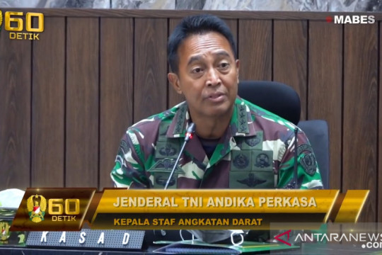 Kasad: Oknum TNI terlibat penyalahgunaan anggaran diberi sanksi tegas