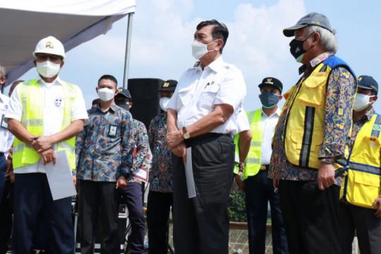 Luhut targetkan proyek sodetan Ciliwung rampung 2022