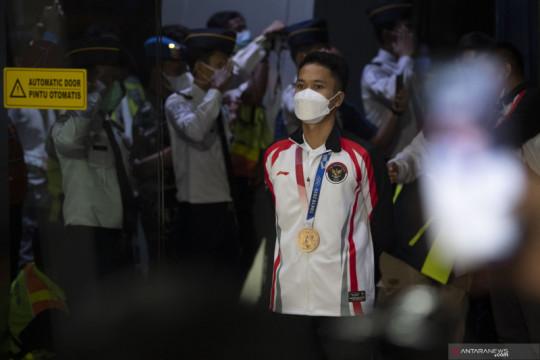 Medali perunggu Olimpiade jadi motivasi Ginting raih gelar lain