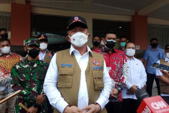 Kepala BNPB apresiasi kelengkapan fasilitas isolasi terpusat di Medan