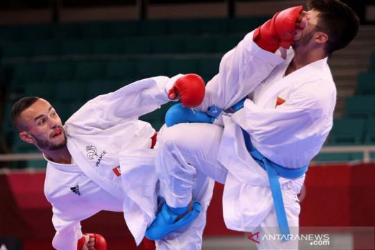 Menang telak 5-0, karateka Prancis Steven Da Costa rebut medali emas Olimpiade Tokyo