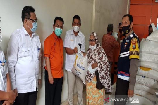 BULOG: Penyaluran bantuan beras PPKM di Sumut sudah 100 persen