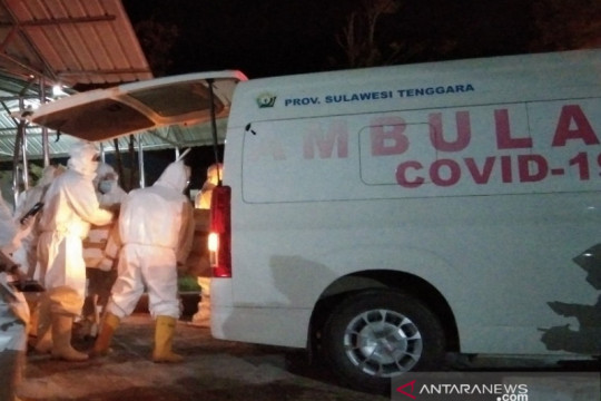 Satgas: Kasus meninggal akibat COVID-19 di Sultra menjadi 397 orang
