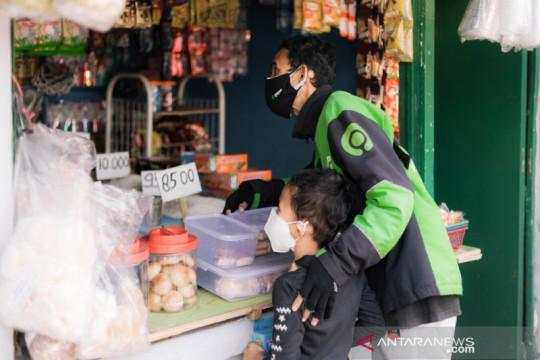 Gojek bagikan bantuan belanja Rp25 miliar untuk mitra driver aktif
