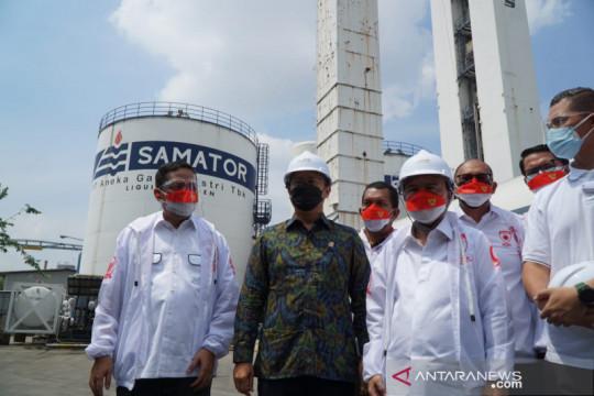 Pemerintah-DPR RI dorong produsen tingkatkan produksi oksigen untuk RS