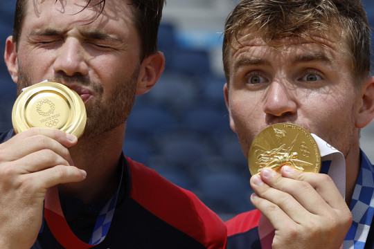 Norwegia juarai voli pantai putra Olimpiade Tokyo