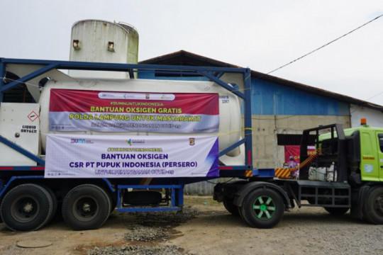 Pupuk Indonesia salurkan bantuan 286 ton oksigen medis
