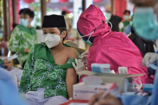 PMII dorong vaksinasi di pesantren dan pedesaan