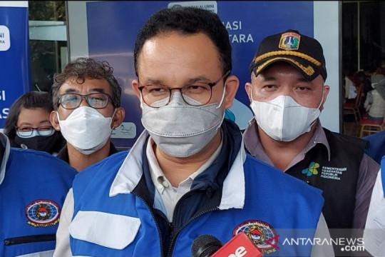 Anies: Tanggul bukan solusi permanen atasi Jakarta tenggelam
