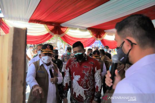 BNPB kembali serahkan bantuan dukung penguatan Posko PPKM di Medan
