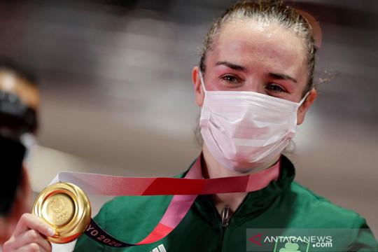 Irlandia, Kuba, Inggris, Uzbek rebut emas terakhir tinju Tokyo 2020