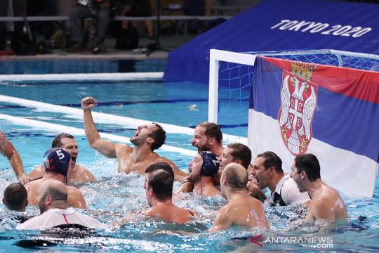 Polo air putra Serbia sabet medali emas terakhir Olimpiade Tokyo
