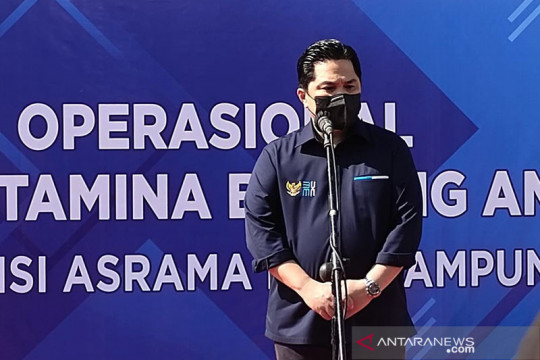 Erick: RS Darurat disiapkan karena COVID-19 di Lampung mulai meningkat