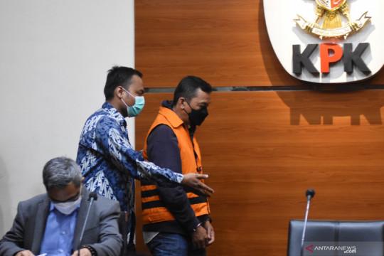 Penahanan tersangka baru kasus suap anggota DPRD Jambi