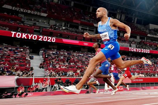 Peraih dua medali emas Olimpiade Marcell Jacobs bantah gunakan doping