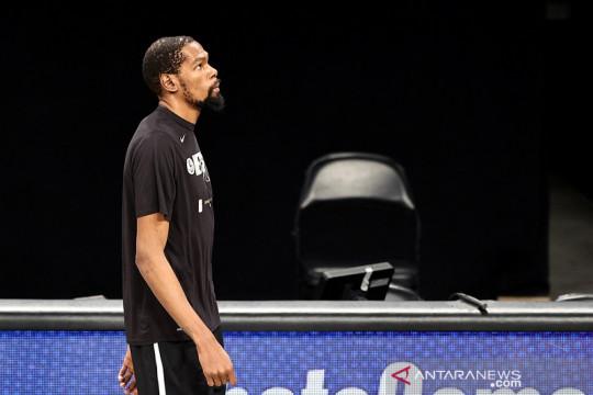"Kevin Durant cetak ""triple-double"" saat Nets tundukkan 76ers"