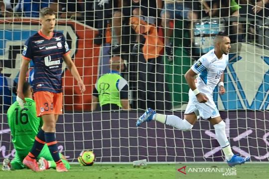 Marseille bangkit dari ketertinggalan dua gol untuk bekuk Montpellier
