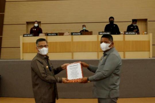 DPRD Kendari menyetujui perubahan KUA-PPAS 2021