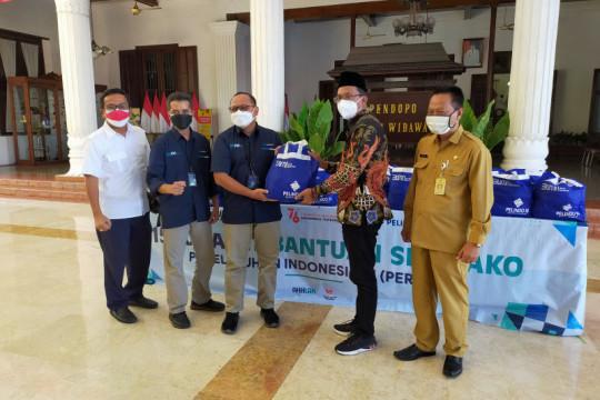Pelindo III serahkan 1.500 paket sembako di Kabupaten Sidoarjo