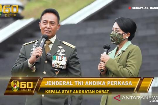 Kasad minta lulusan Diktukpa tidak kecewakan kehormatan TNI AD