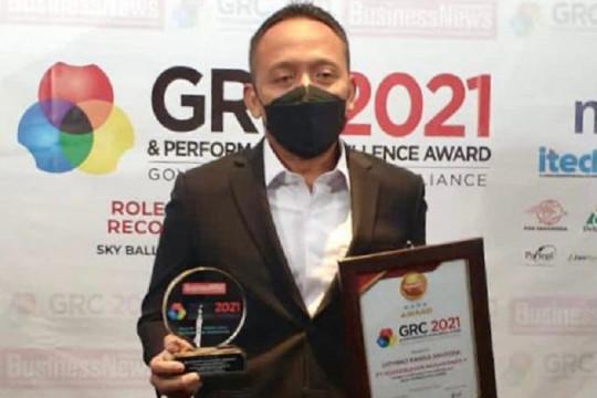 PTPN V raih penghargaan tata kelola perusahaan dan CEO terbaik 2021