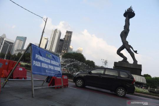 PPKM di Jawa dan Bali diperpanjang, 26 kabupaten/kota turun level