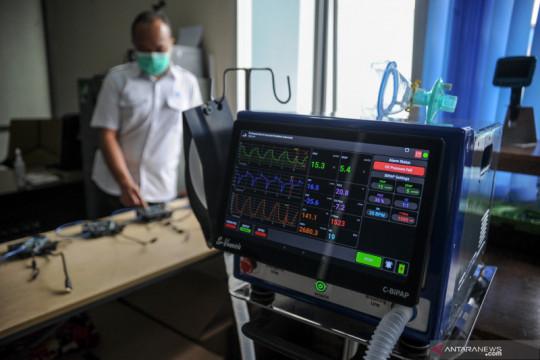 Uji coba alat Smart Innovated Ventilator Indonesia