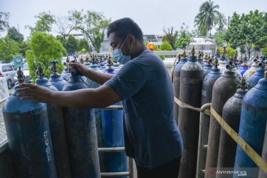 Satgas: Kebutuhan oksigen DIY masih di atas normal