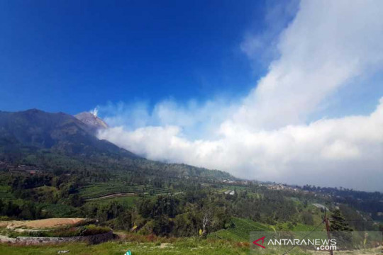 Pemprov Jateng dan BPPTKG berkoordinasi pantau Gunung Merapi