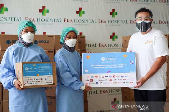Sirclo donasikan 800 paket untuk keluarga nakes terdampak COVID-19