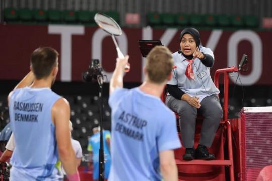 Guru SD di Surabaya bagi pengalaman saat jadi wasit di Olimpiade Tokyo