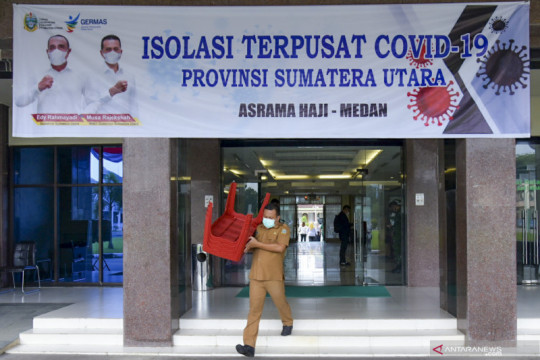 Asrama Haji Medan resmi jadi tempat isolasi terpusat pasien COVID-19