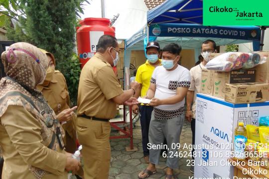 """Kelurahan Cikoko bagikan """"doorprize"""" bagi warganya yang ikut vaksin"""