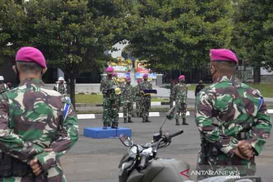 Kasal berikan 25 unit sepeda motor kepada Korps Marinir