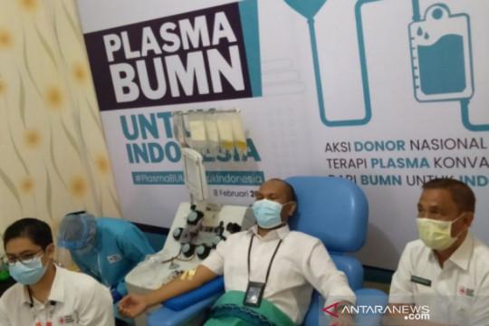 PMI pusat bantu kebutuhan darah plasma untuk Banjarmasin