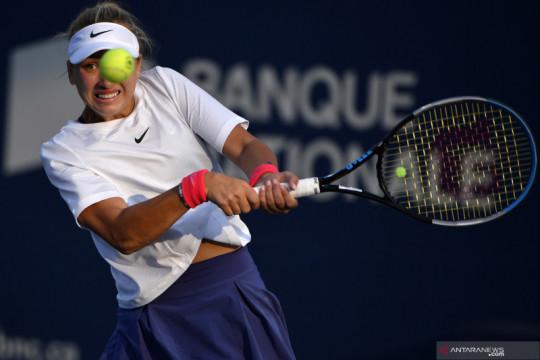 Tenis Canadian Open: Potapova kalahkan Shelby Rogers