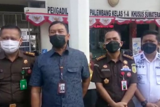 KPK berikan supervisi kasus tipikor Masjid Raya Sriwijaya Palembang